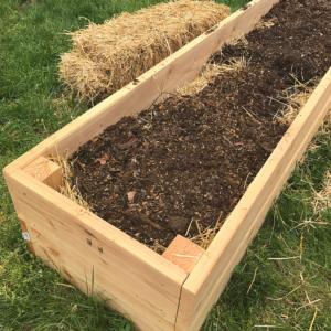 Hugelkultur Raised Garden Beds | Roots & Boots