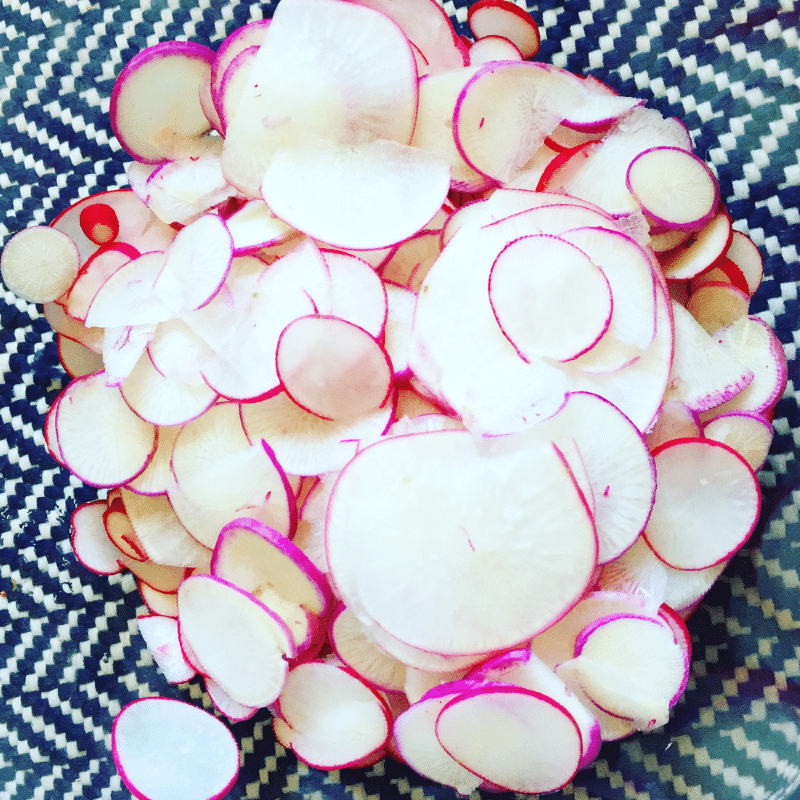 Canning Honey Pickled Radishes | Roots And Boots