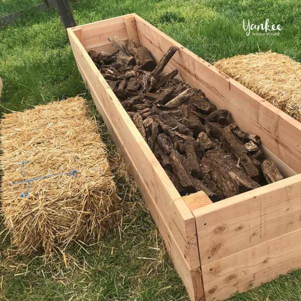 How to Build Hugelkultur Raised Garden Beds