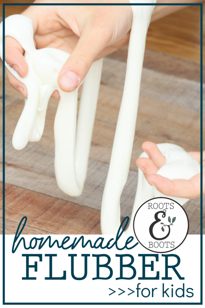 Homemade Flubber with Essential Oils | Roots & Boots