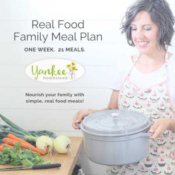 Revolutionize Your Family Meals with My Real Food Family Meal Plan