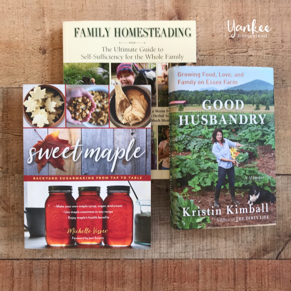 3 Homestead Books to Add to Your Library {& a Giveaway}