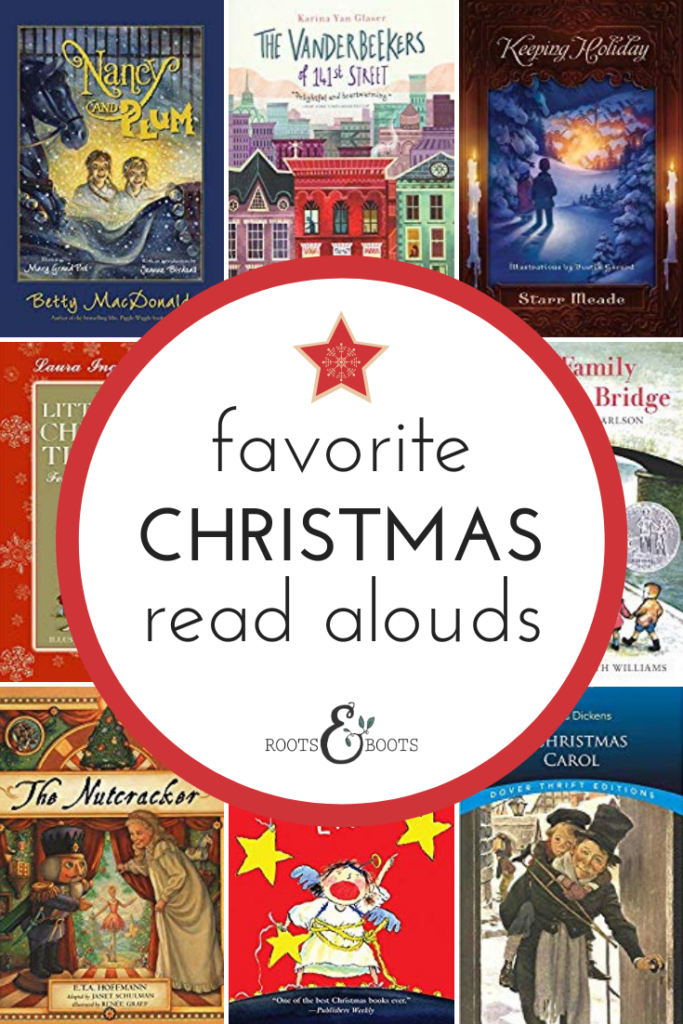 12 Family Christmas Read Aloud Books | Roots & Boots