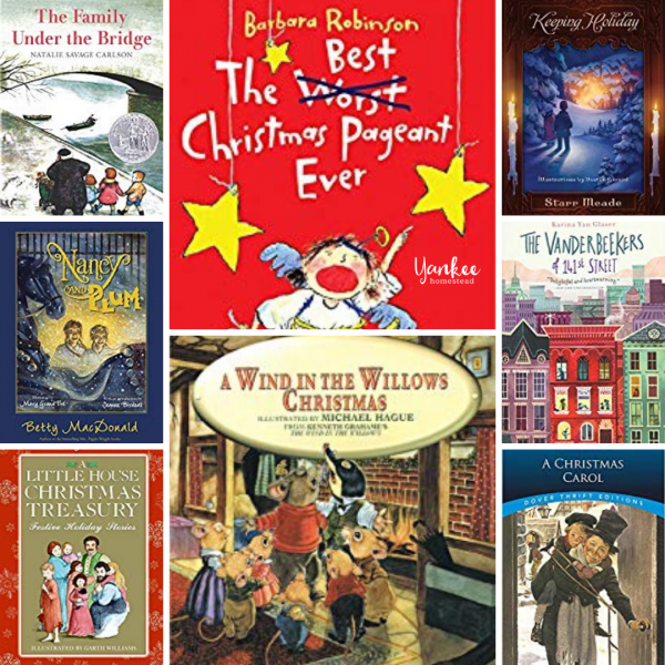 12 Family Christmas Read Alouds