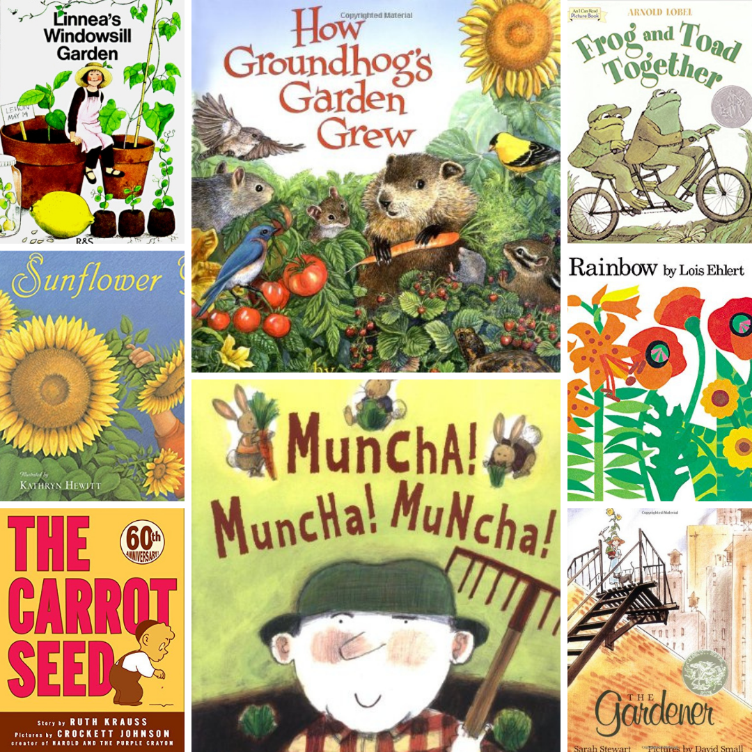 Favorite Children's Books About Seeds and Gardens | Roots & Boots