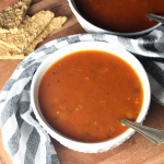 Quick and Easy Tomato Basil Soup | Yankee Homestead