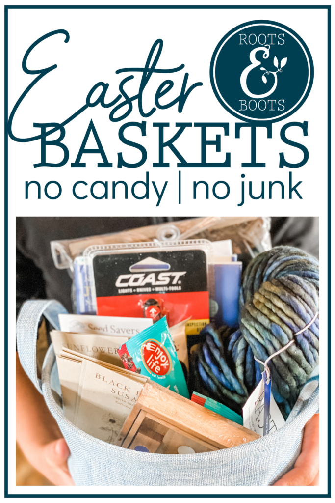 Non-Candy Easter Basket Ideas | Roots & Boots