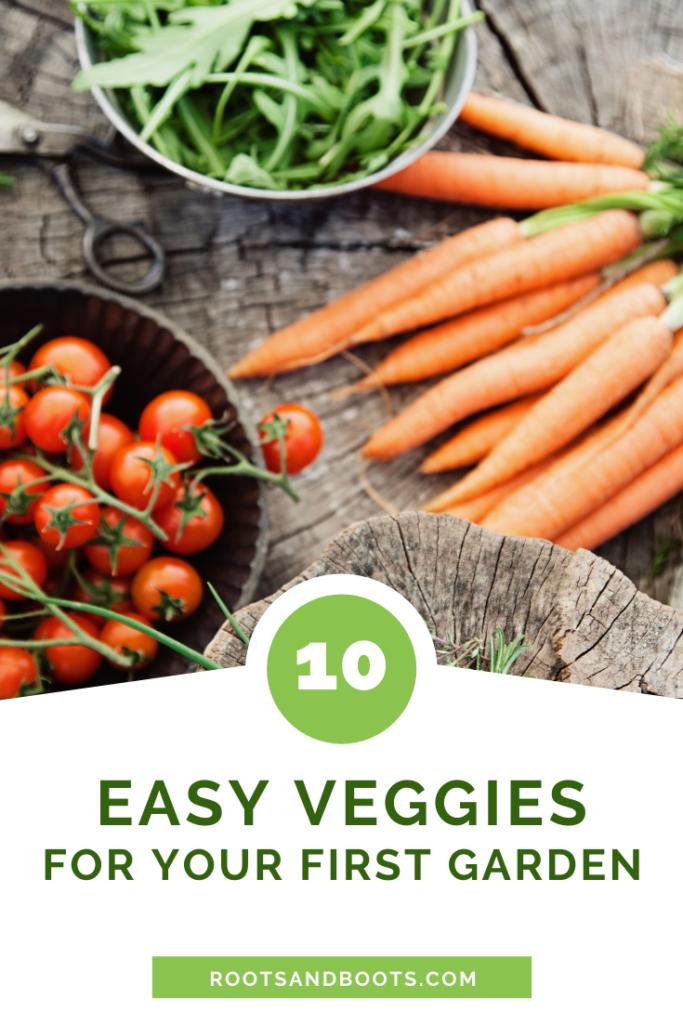 10 Best Veggies for Beginning Gardeners | Roots & Boots