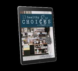 13 Healthy Choices digital IMAGE