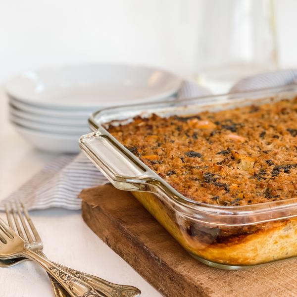 Paleo Spaghetti Squash Pie