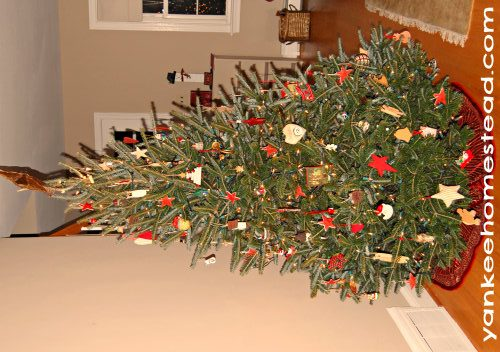 Christmas Tree   Yankeehomestead.com