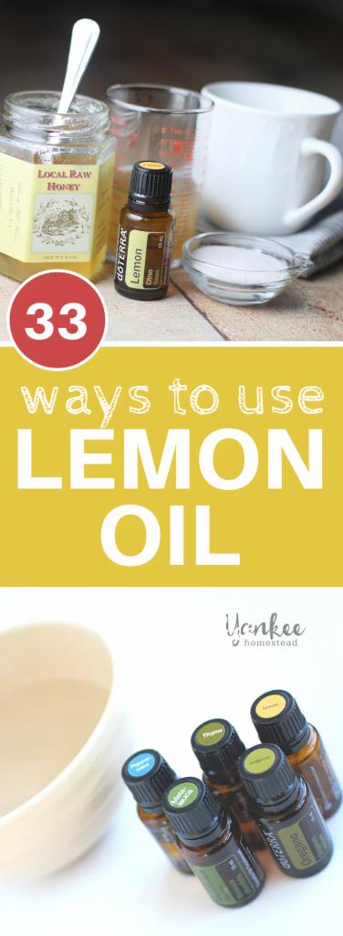 33 Ways to Use Lemon Oil | Yankee Homestead