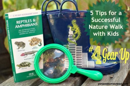5 Tips for Successful Nature Walks with Kids {#4 Gear Up}