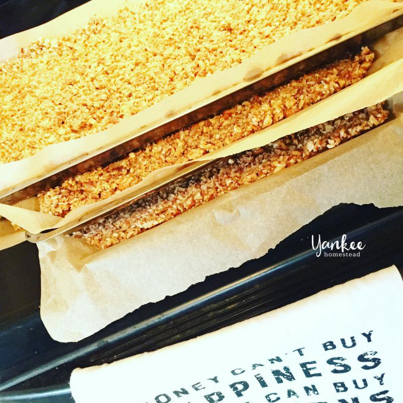 Oven Baked Paleo Vanilla Nut Granola | Yankee Homestead