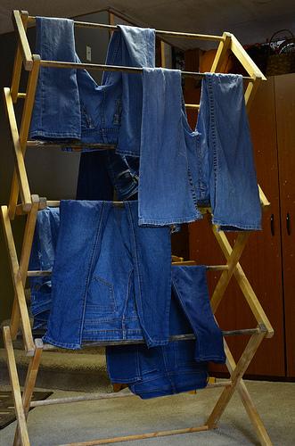 free standing drying rack