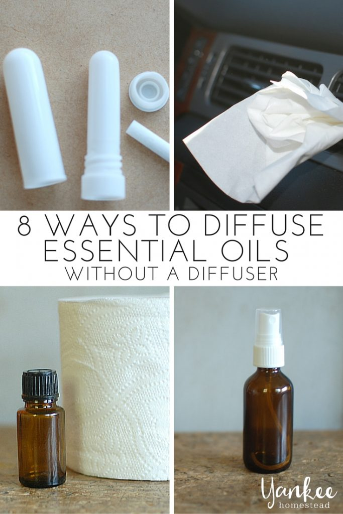 No diffuser? You can still diffuse essential oils (and reap the benefits) with these 8 simple methods.
