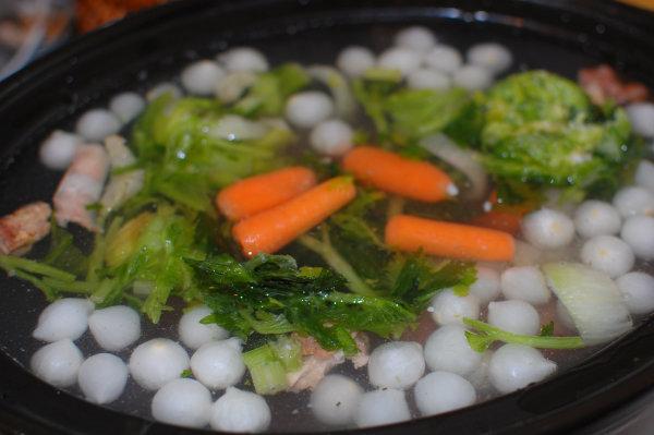 Add the veggies