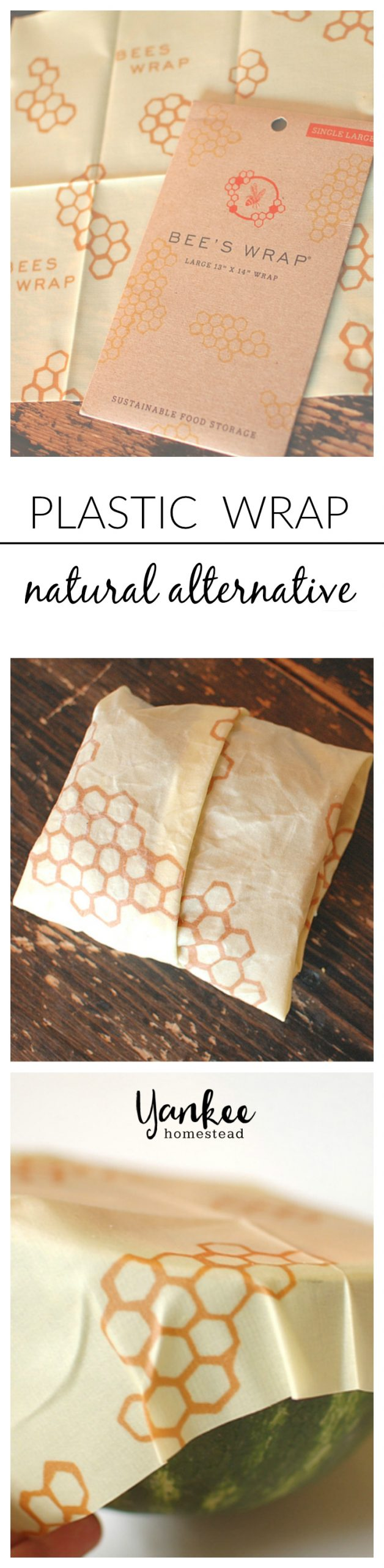 Get a set of Bee's Wrap, a natural and nontoxic alternative to plastic wrap, for just $3 (including shipping)!