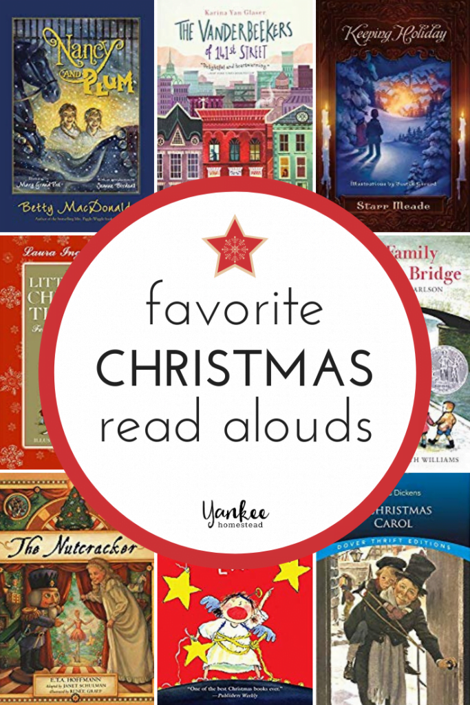 12 Family Christmas Read Alouds | Yankee Homestead
