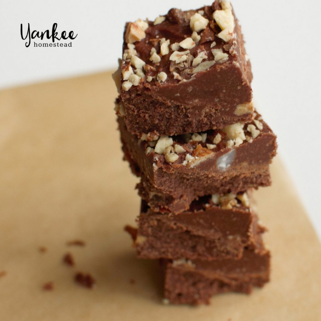 Chocolate Peanut Butter Fudge | Yankee Homestead