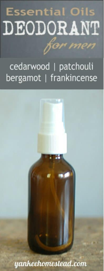 Essential Oils Deodorant for Men | Yankee Homestead