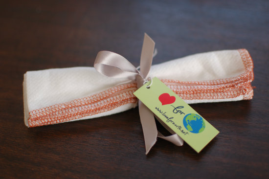 For the Love of Earth Reusable Everyday Napkins