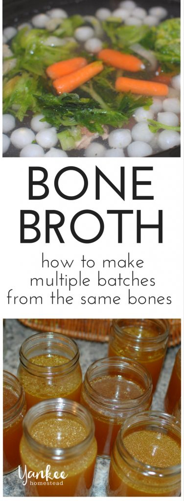How to Make Multiple Batches of Bone Broth from the Same Bones | Yankee Homestead