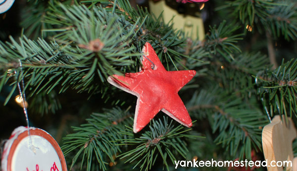 Homemade Cookie Ornament   Yankeehomestead.com