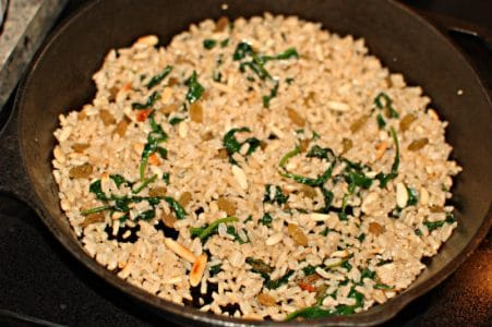 Leftover Brown Rice, Glorified