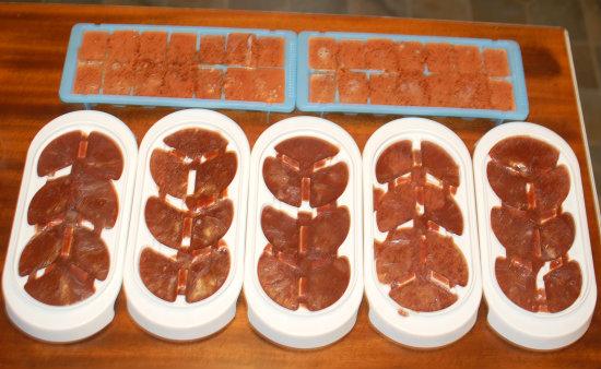 Liver cubes