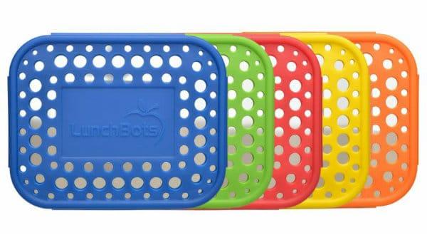 LunchBots Dots Lids