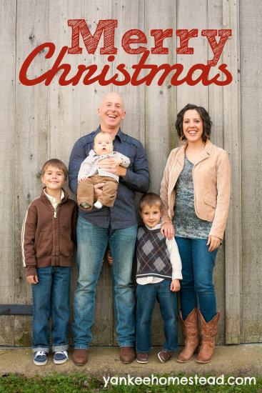 Merry Christmas   Yankeehomestead.com