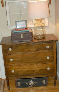 Old Dresser with New Knobs