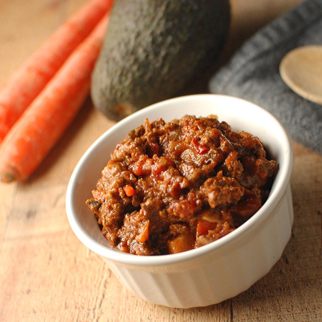 Paleo Crockpot Chili with Extra Veggies
