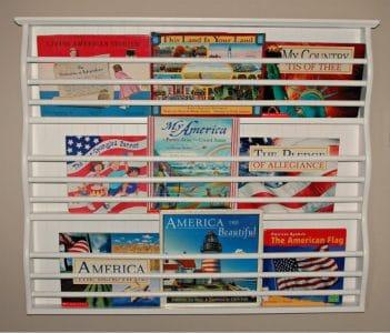 Patriotic Book Display