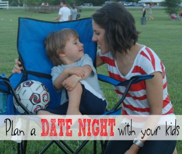 Plan a Date Night with your Kids