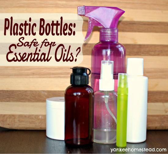 Are Plastic Bottles Safe for Essential Oils?