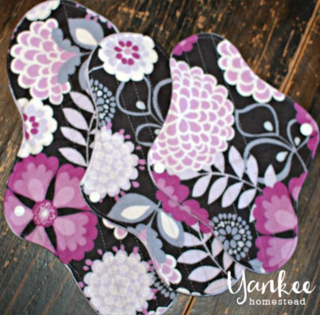 Reusable Cloth Pads | Yankee Homestead