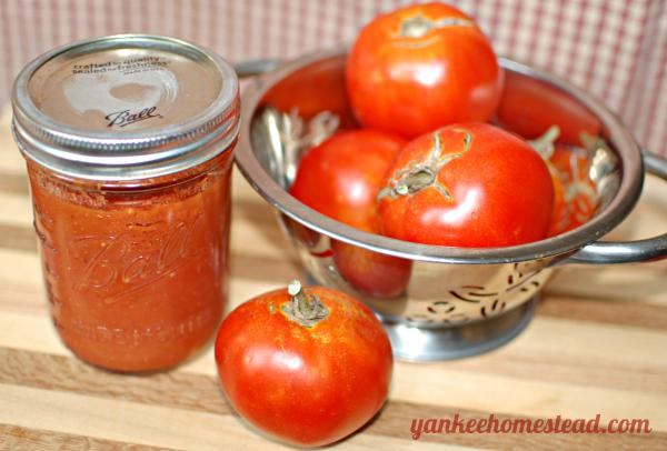 Roasted Tomato Sauce | Yankee Homestead