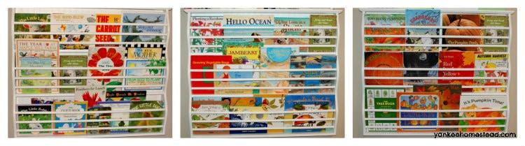 Seasonal Book Display | Yankeehomestead.com