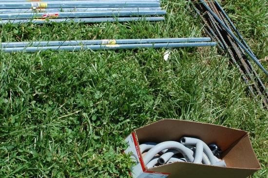 Square Foot Gardening--Trellis Materials