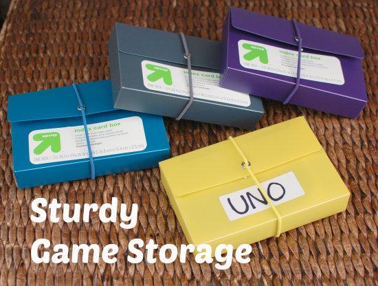 Sturdy Game Storage
