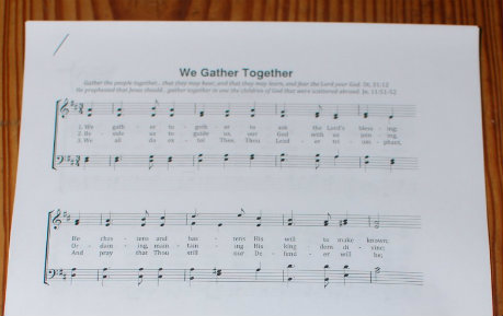 Thanksgiving Hymns Packet