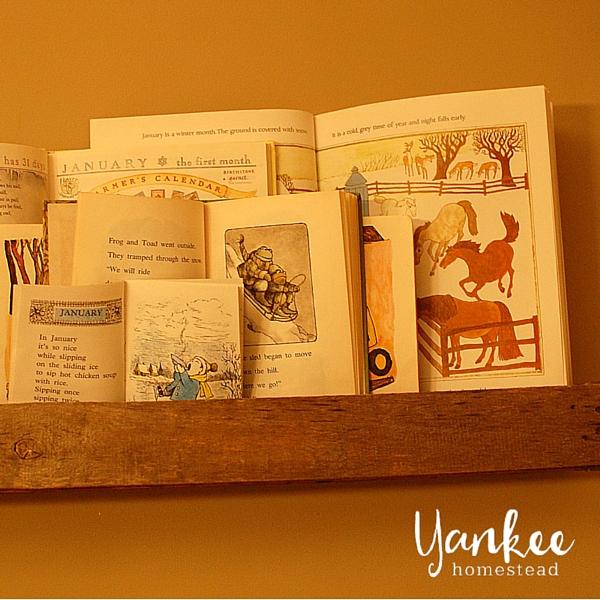 Winter Book Display | Yankee Homestead