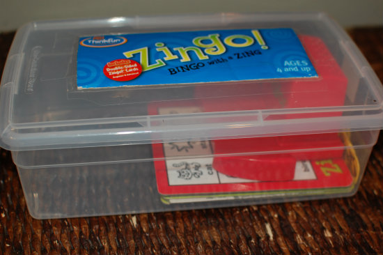 Zingo box