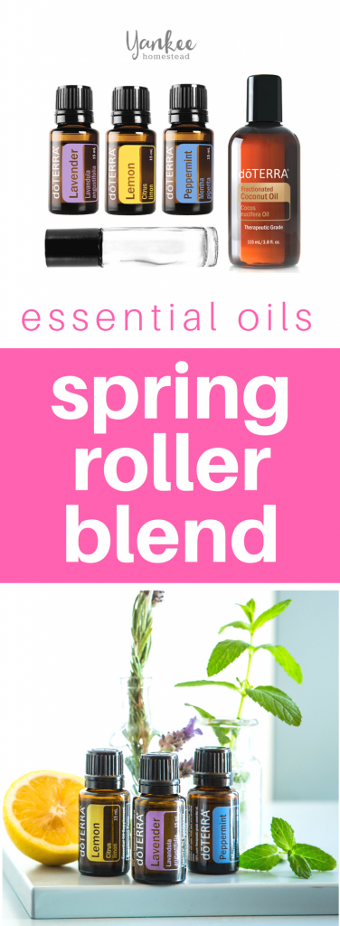 This simple roller blend helps to ease the effects of springtime pollen. Mix up a few today!   Spring Pollen Essential Oil Blend   Yankee Homestead