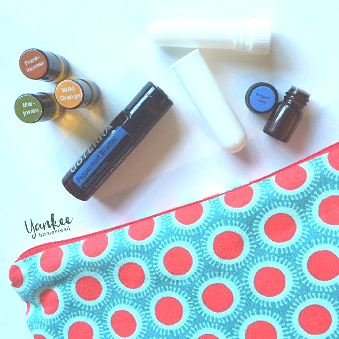 Essential Oil Survival Kit for Anxious Flyers