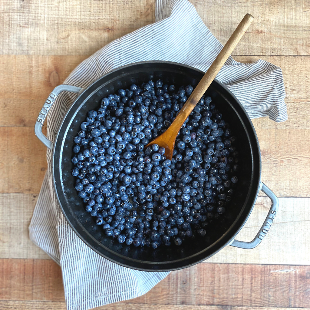 Honey Sweetened Blueberry Jam Without Pectin | Roots & Boots