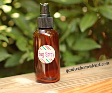 DEET-Free Bug Spray with essential oils