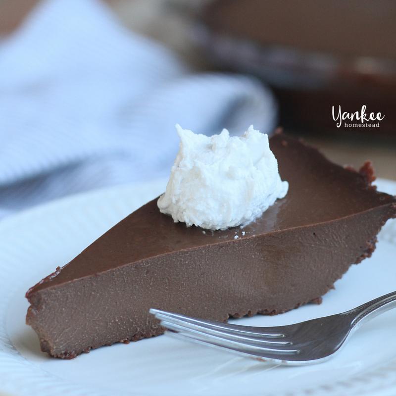 Paleo Chocolate Pie